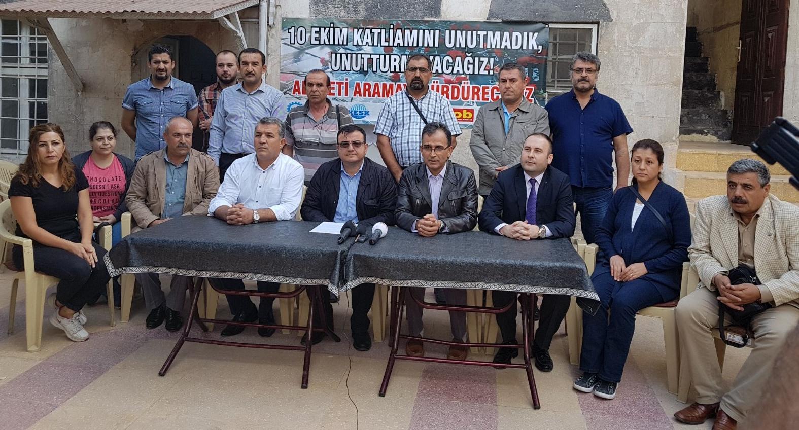 Ankara Garı Patlamasında Adaleti Aramayı Sürdüreceğiz